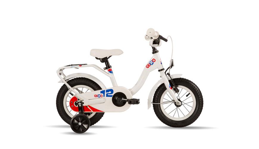 s'cool niXe 12 steel Rower dziecięcy  biały